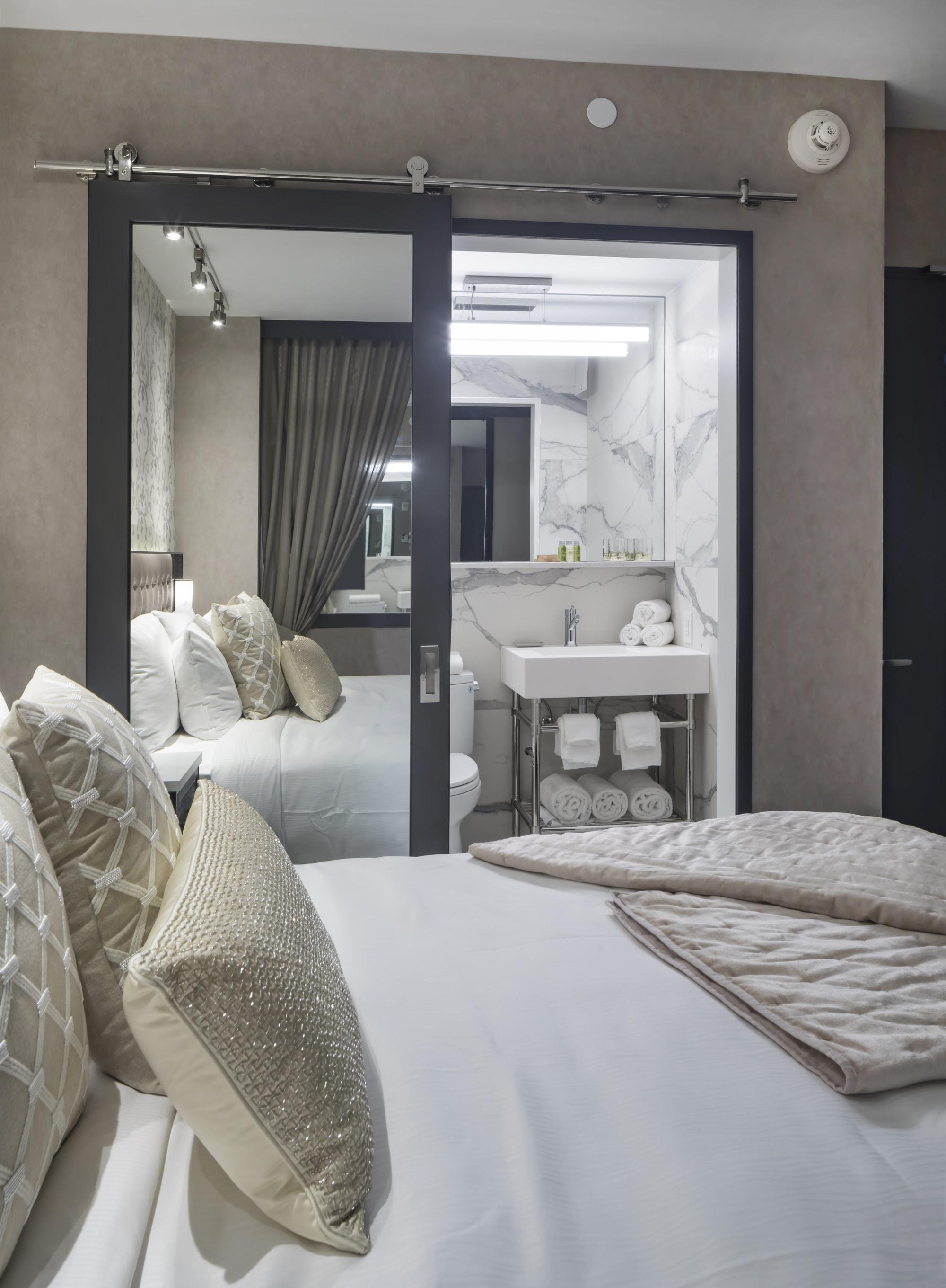 Interior Design by Lemay + Escobar seen at Aliz Hotel, New York - Interior Design