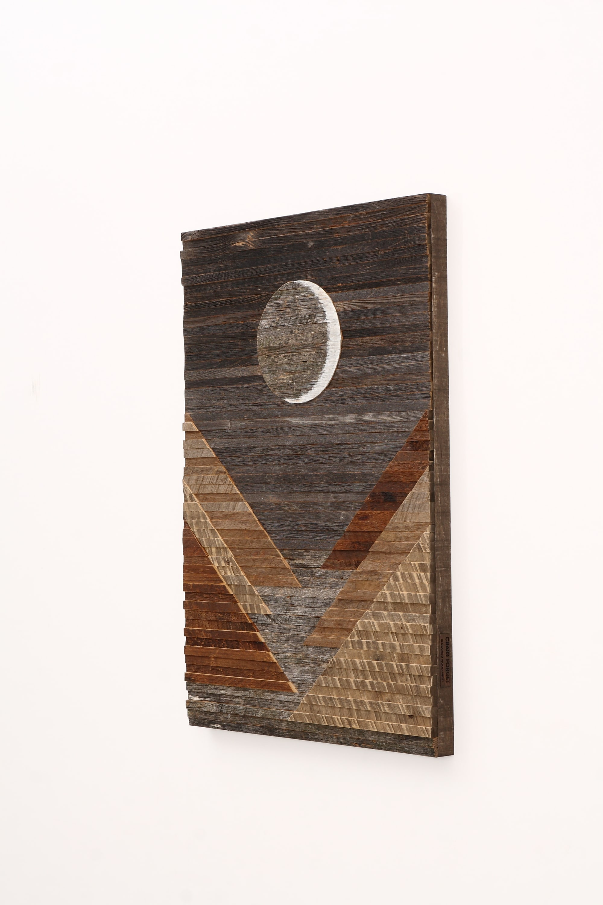 Wall Hangings by Craig Forget seen at Private Residence, Belwood - Waxing Crescent