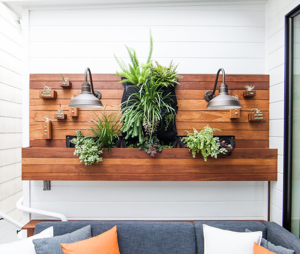 Furniture by FineRoot seen at Private Residence, Noe Valley, San Francisco - Vertical Garden