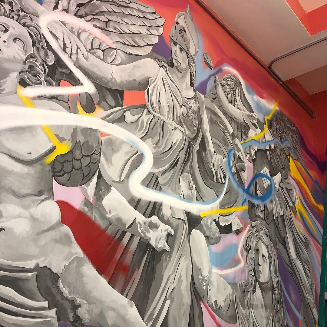 Interior Design by Josh Scheuerman seen at C9 Flats, Salt Lake City - Athena Battles The Giants