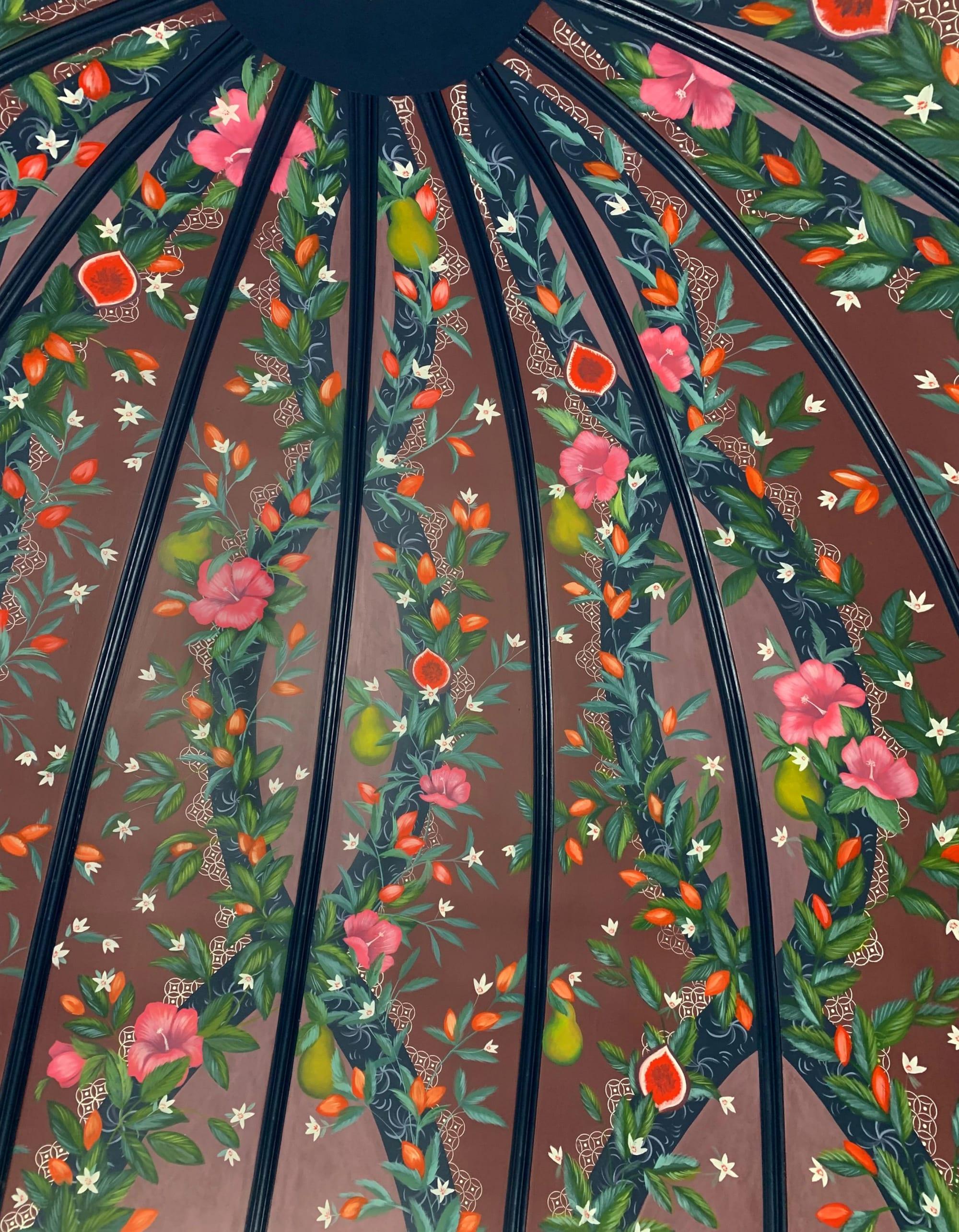 Street Murals by Nicolette Atelier seen at Brasserie Liberté, Washington - Brasserie Liberté