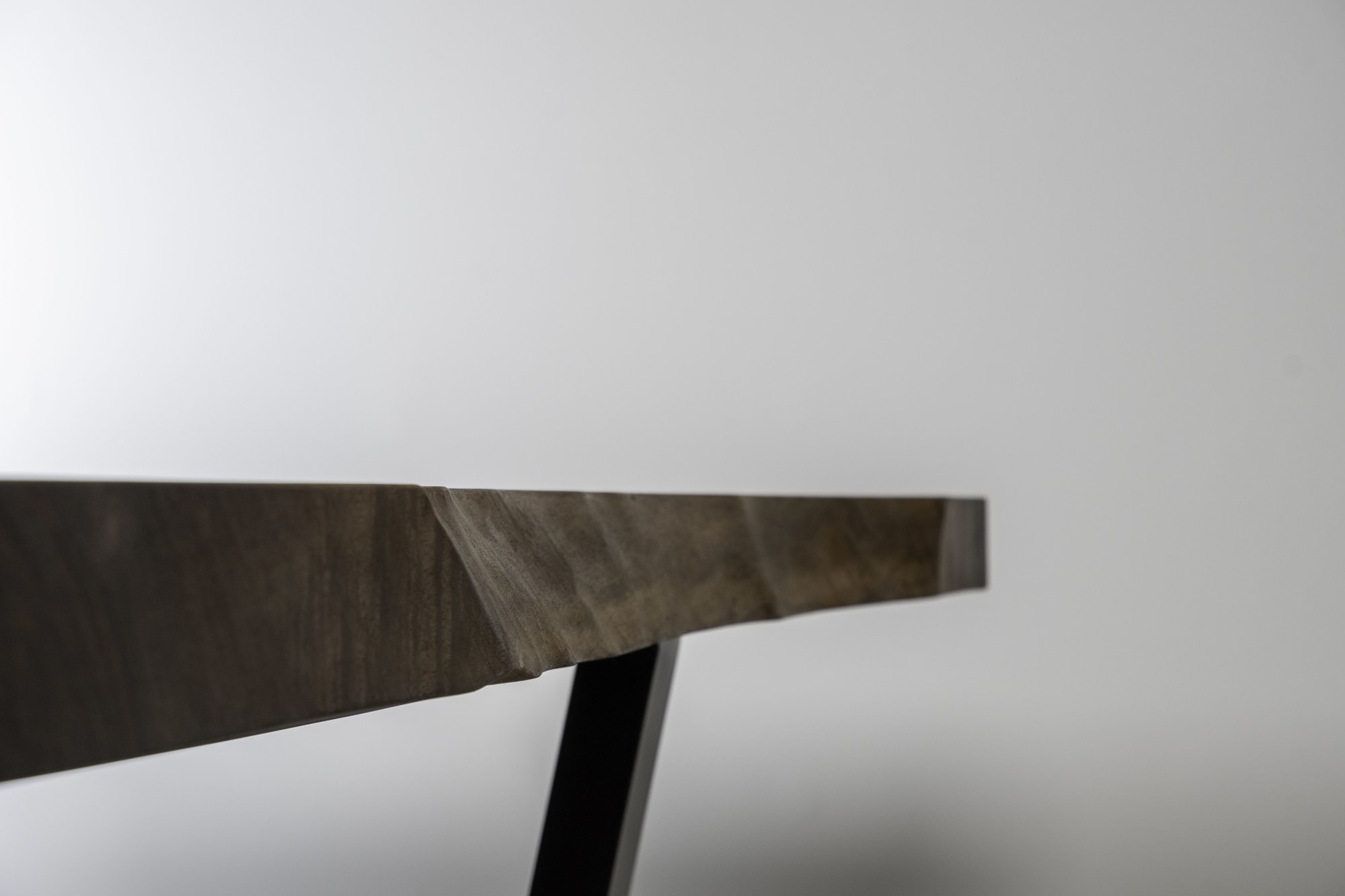 Tables by Kristopher Kirkpatrick seen at Private Residence, Palm Springs - Desert Flower : Black Walnut Dinign Table