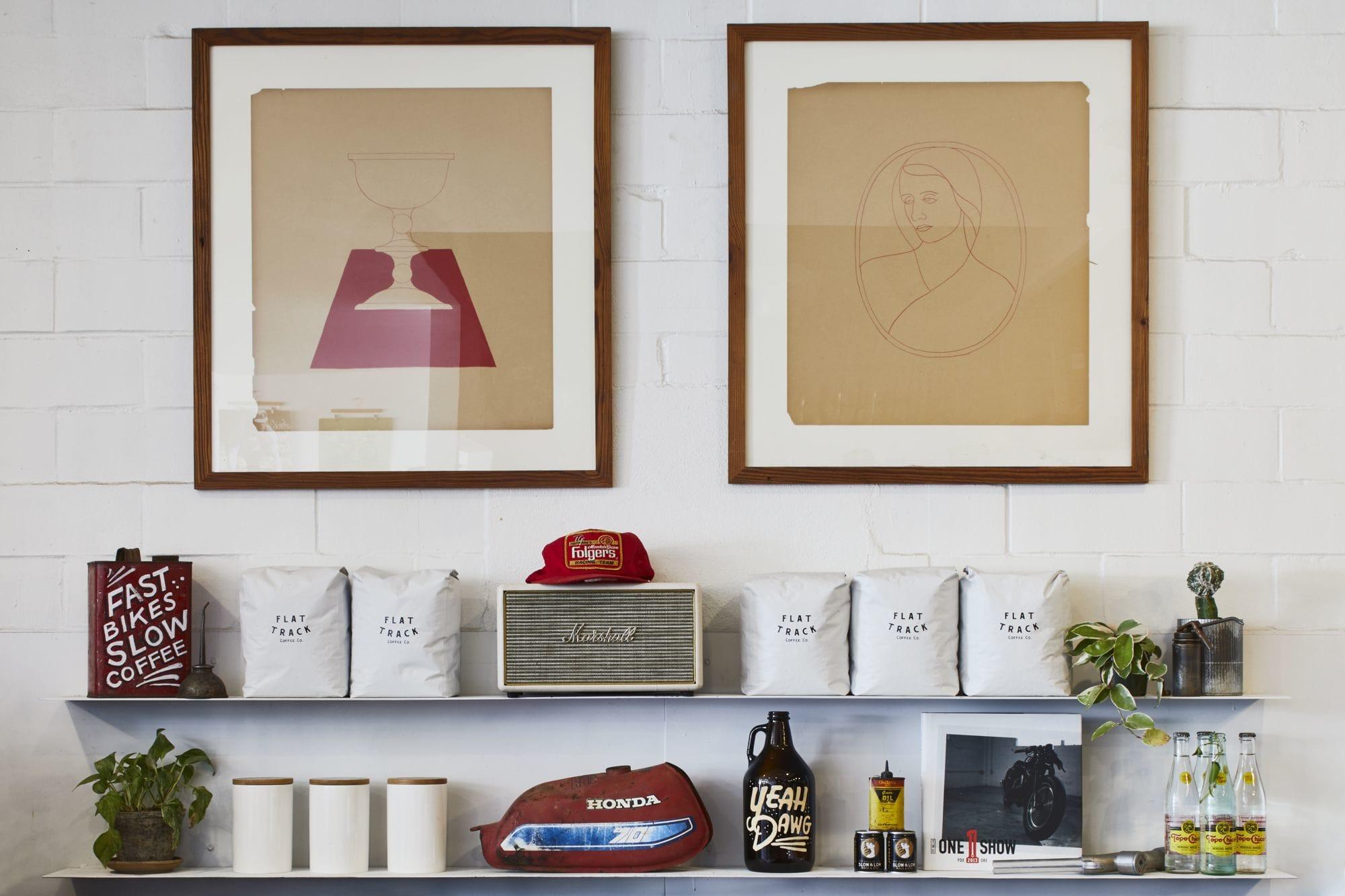 Lighting Design by Lilianne Steckel Interior Design seen at Flat Track Coffee, Austin - Flat Track Coffee
