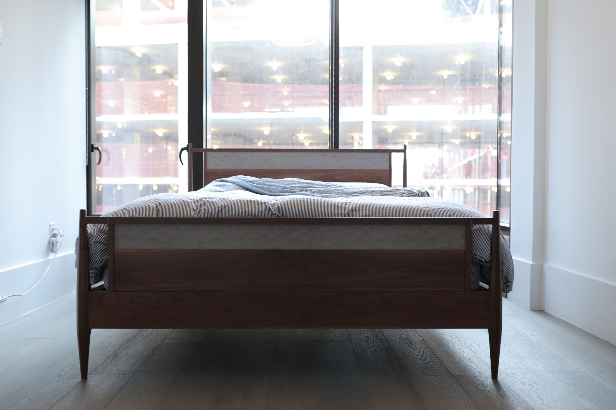 Beds & Accessories by Evan Berding Custom Furniture + Woodwork seen at Private Residence, New York - Grayline Bed