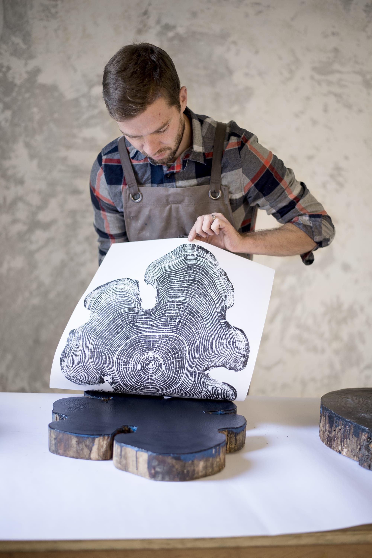 Erik Linton artist portrait
