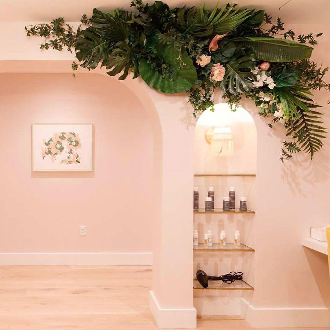 Floral Arrangements by Sachi Rose Floral Design seen at The Wing SF, San Francisco - Floral Design