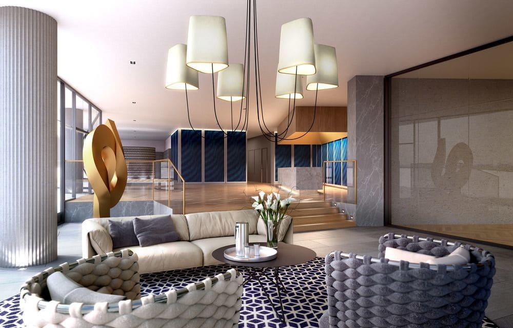 Interior Design by Samantha Eades Design seen at STK Apartments, Saint Kilda - Interior Design