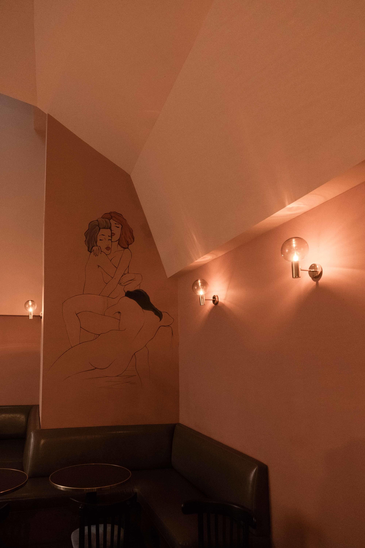 Interior Design by Omgivning seen at Bar Franca, Los Angeles - Bar Franca