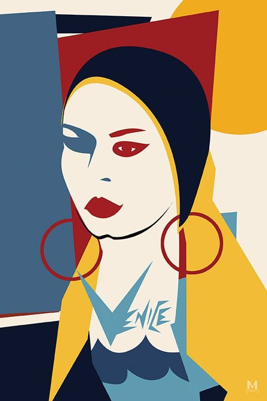 Art & Wall Decor by Michele Castagnetti seen at Flake, Los Angeles - Venice Travel Posters