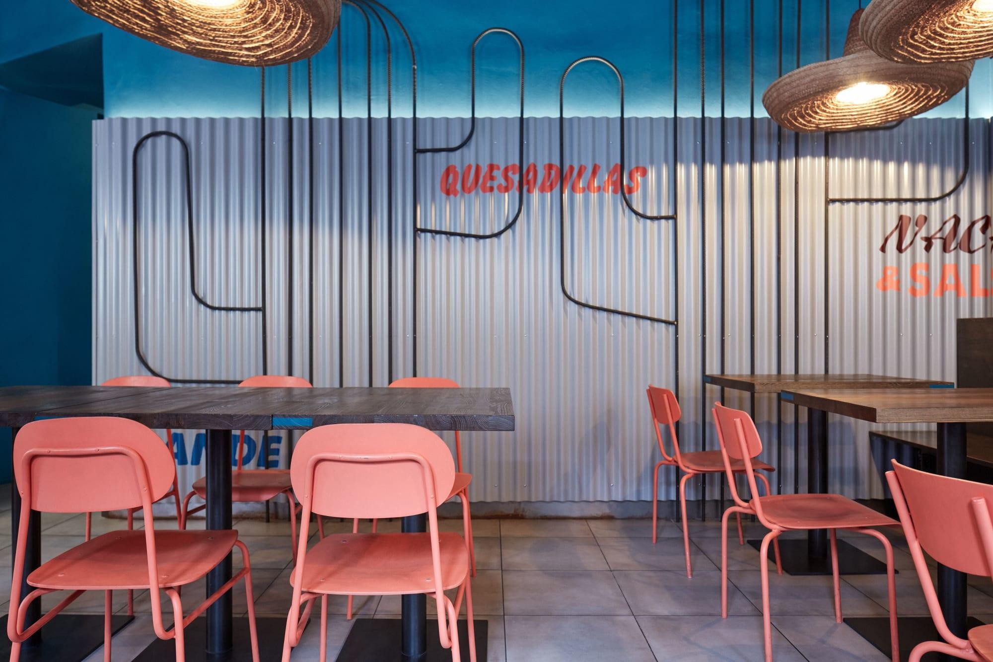 Architecture by formafatal seen at Burrito Loco Seifertova, Praha 3 - Burrito Loco