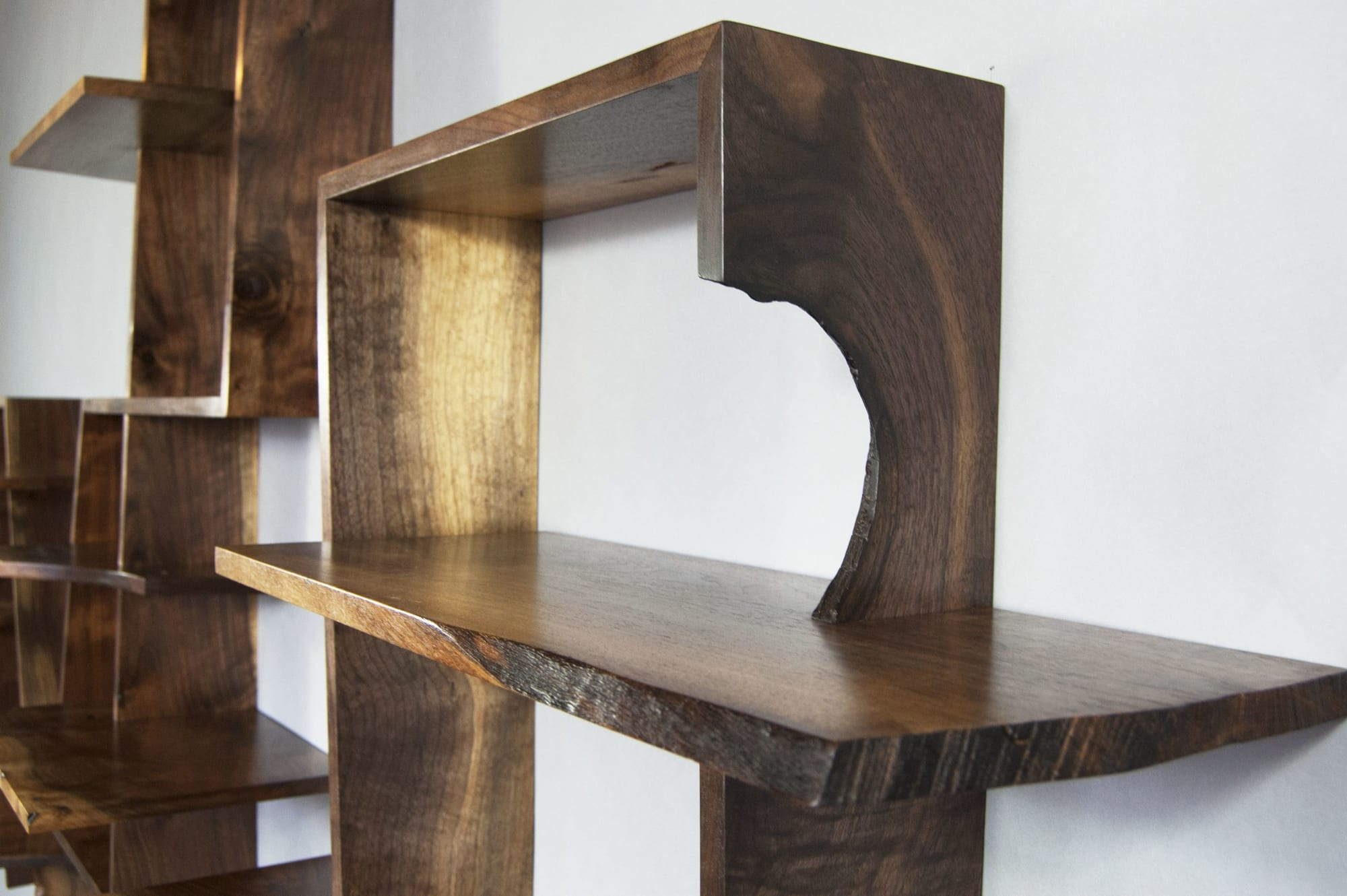 Furniture by Austin Heitzman Furniture seen at Private Residence, Boston - Cahn Shelf