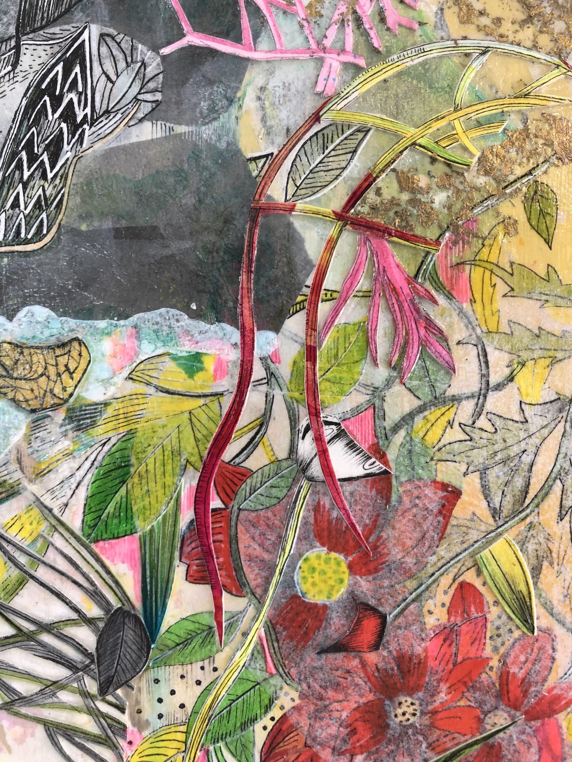 Art & Wall Decor by Victrola Design / Victoria Corbett Art seen at Private Residence, Austin - Into The Garden