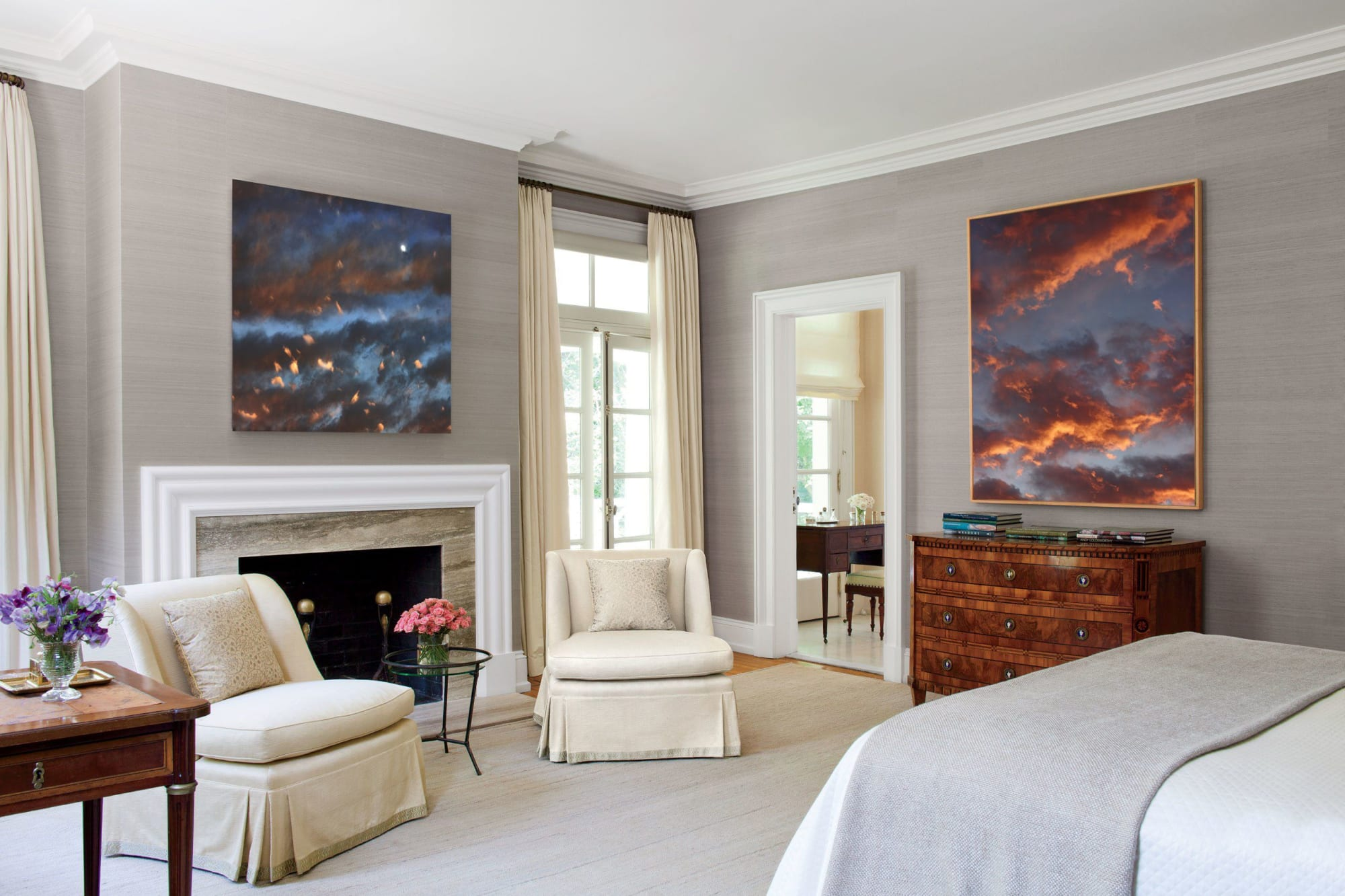 Photography by Tabitha Soren seen at Private Residence, Boston - Weathering - Sky, Clouds