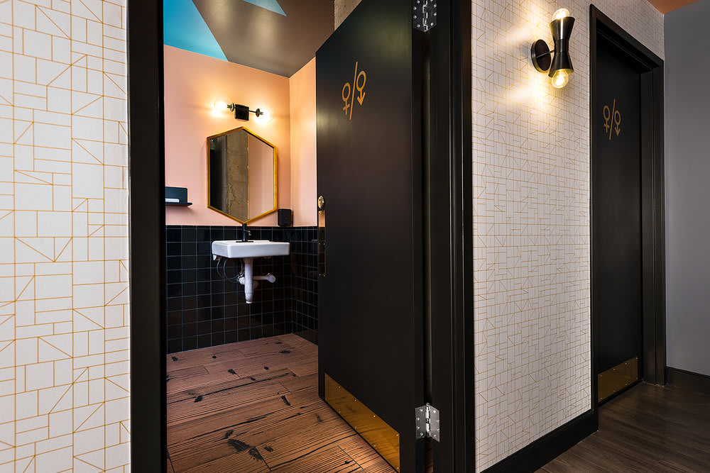 Interior Design by blocHaus seen at BOSS HAIR GROUP, Chicago - Interior Design