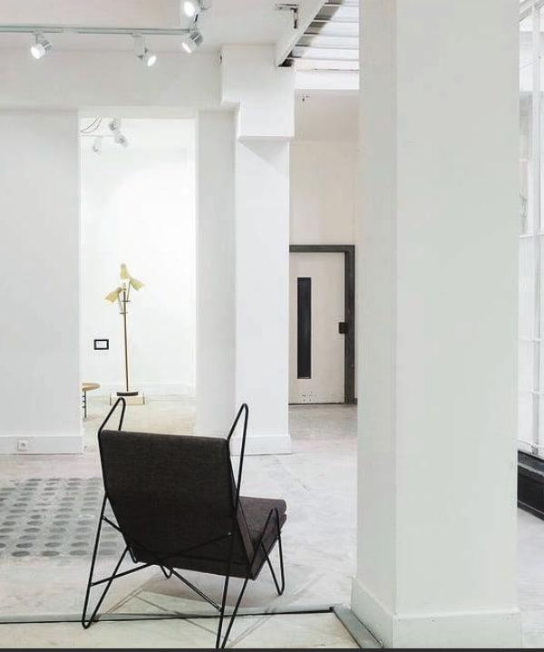 Chairs by Roan Barrion seen at Galerie Joseph, 123 rue de Turenne, Paris - Series Z Lounge Chair
