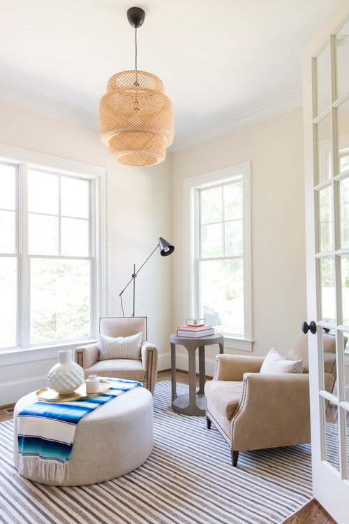 Interior Design by Kerra Michele Interiors seen at Private Residence, McLean - Franklin Park
