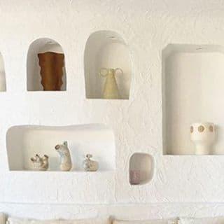 Sculptures by Mesut Ozturk seen at RESTAURANT OURSIN, Paris - Halka Vases