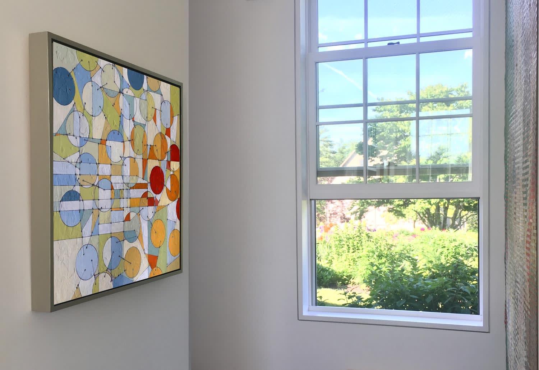 Paintings by Annie Darling seen at Private Residence, Freeport - Stadtplan