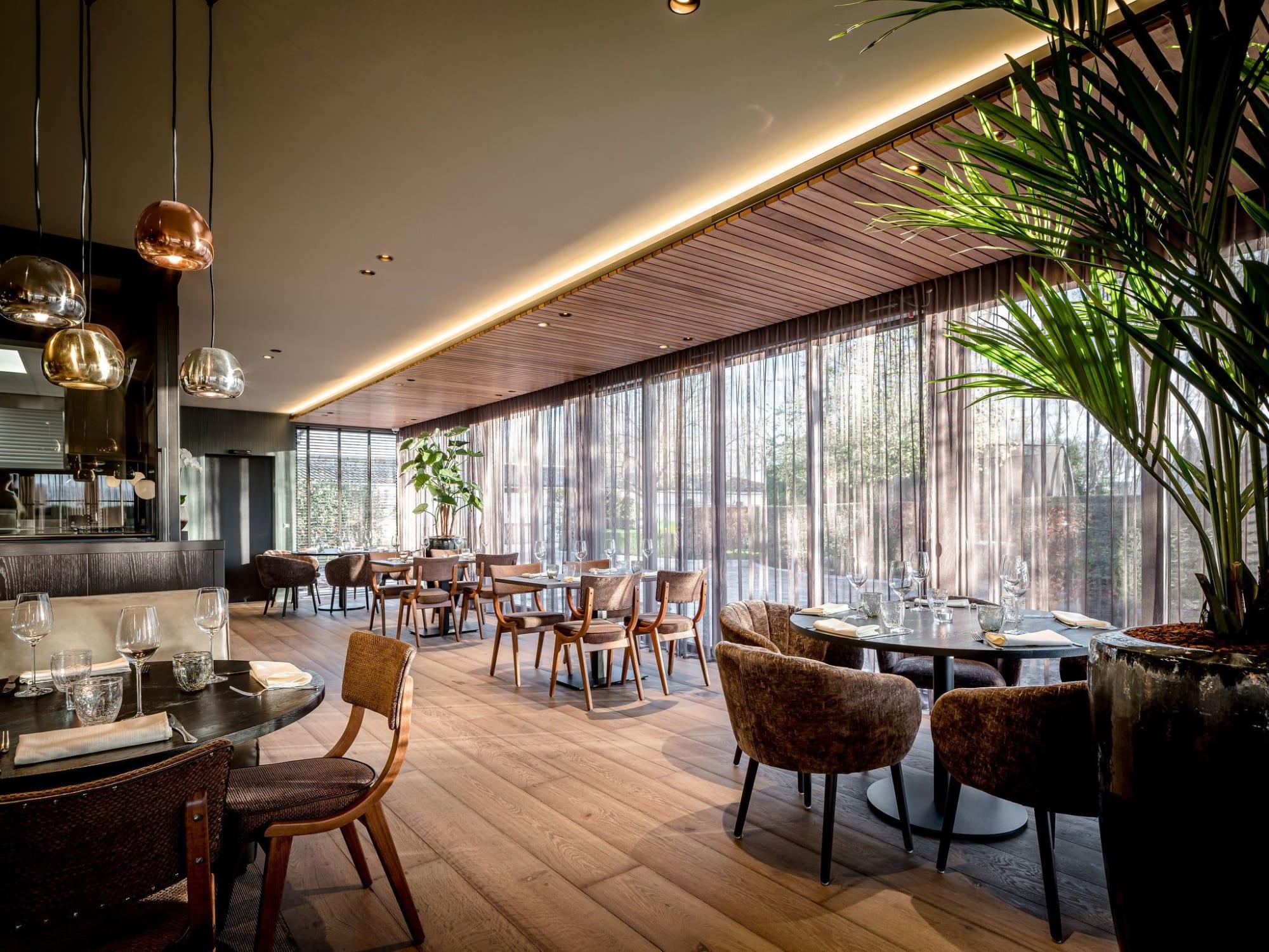 Interior Design by Hans Kuijten seen at Tol 1, Eede - Restaurant De Tol