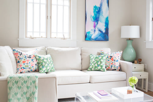 Interior Design by Kerra Michele Interiors seen at Private Residence - Hill House