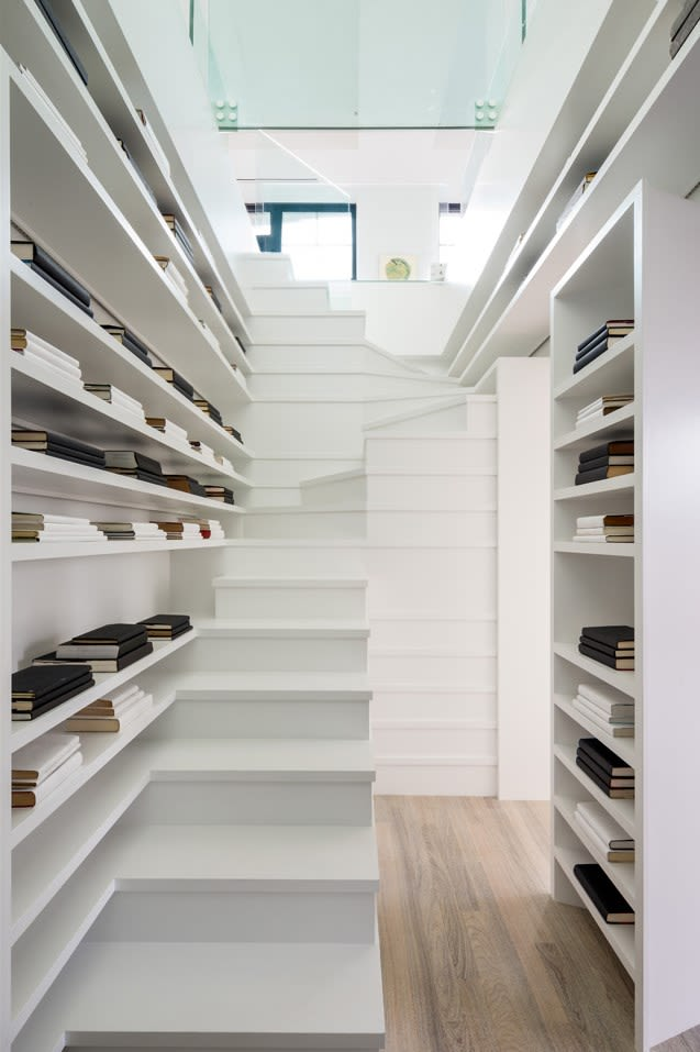 Architecture by MVRDV seen at Sky - Luxury Apartment Rentals NYC, New York - Sky Vault Penthouse