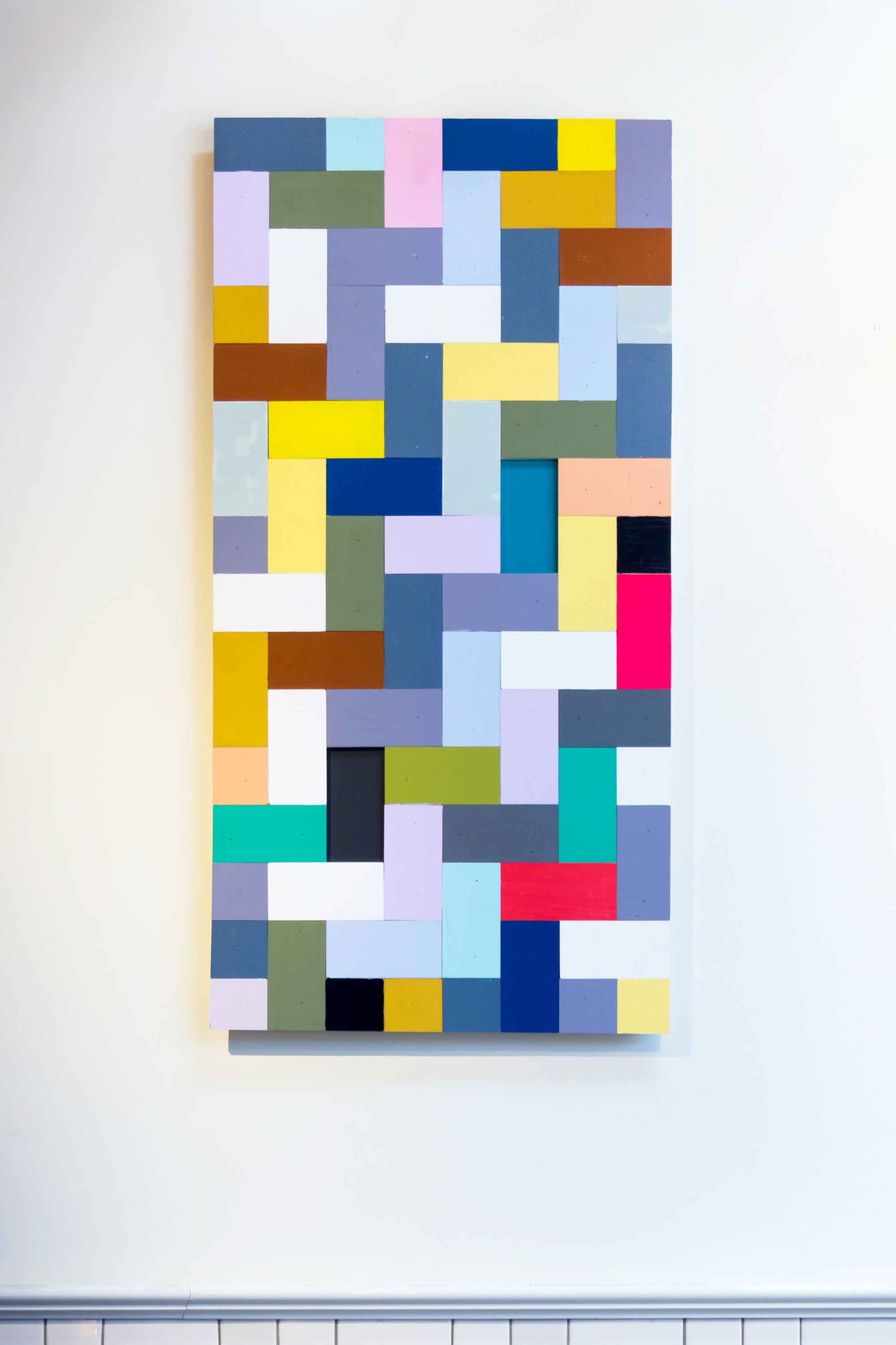 Paintings by Leah Rosenberg seen at The Mill, San Francisco - Well Together
