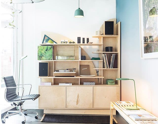 Furniture by Kump Studio seen at Wilder, Nashville - Sun and Tower Shelving For Wilder Etudes