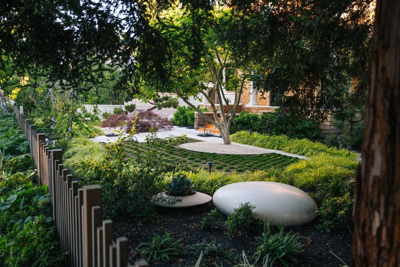 Plants & Landscape by Zeterre Landscape Architecture seen at Private Residence, Palo Alto - Asian-Inspired Palo Alto Bungalow