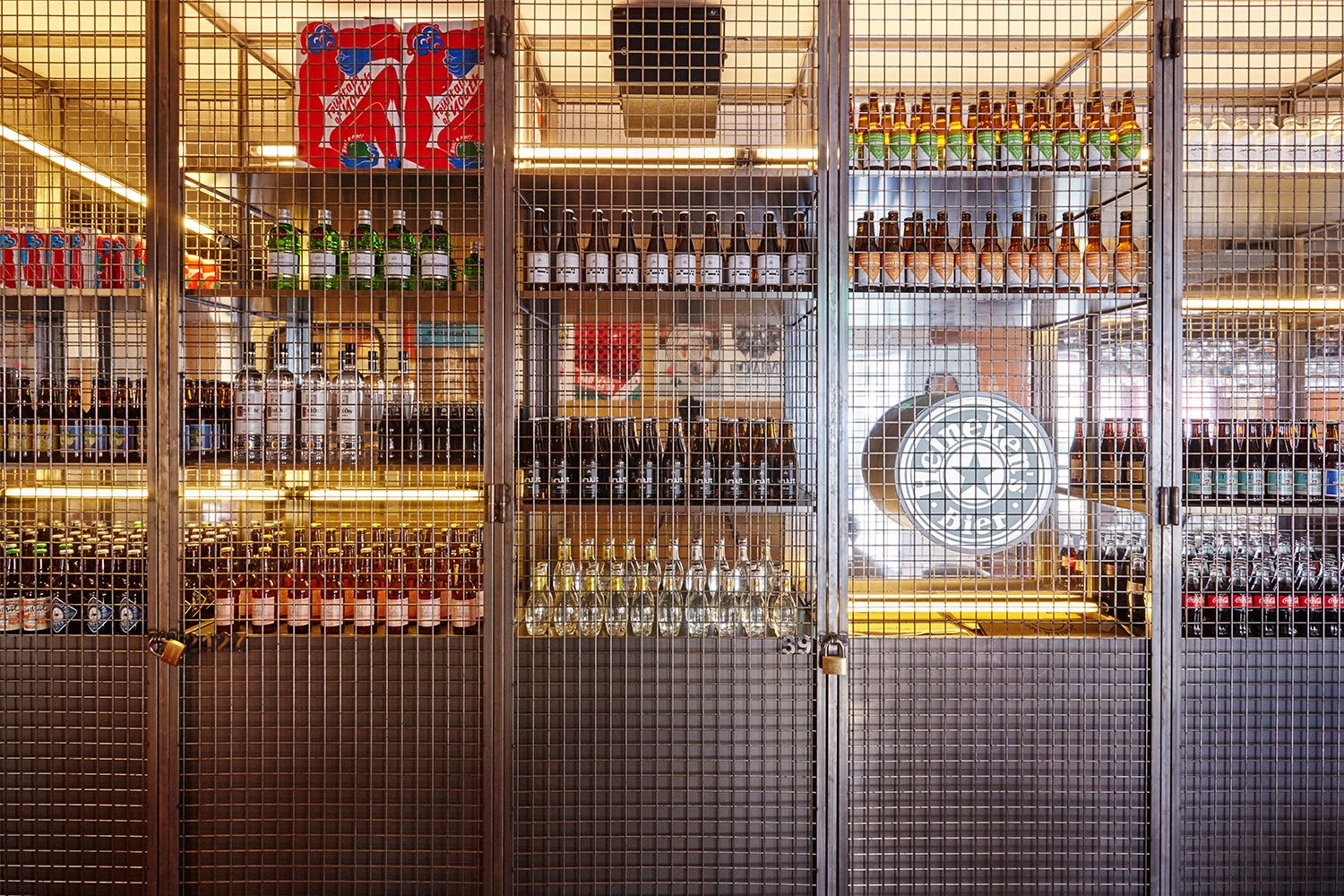 Interior Design by Studio Modijefsky seen at Bar Basquiat, Amsterdam - Interior Design