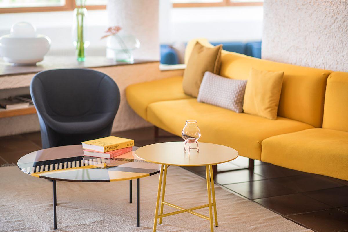 Modern yellow couches & sofas