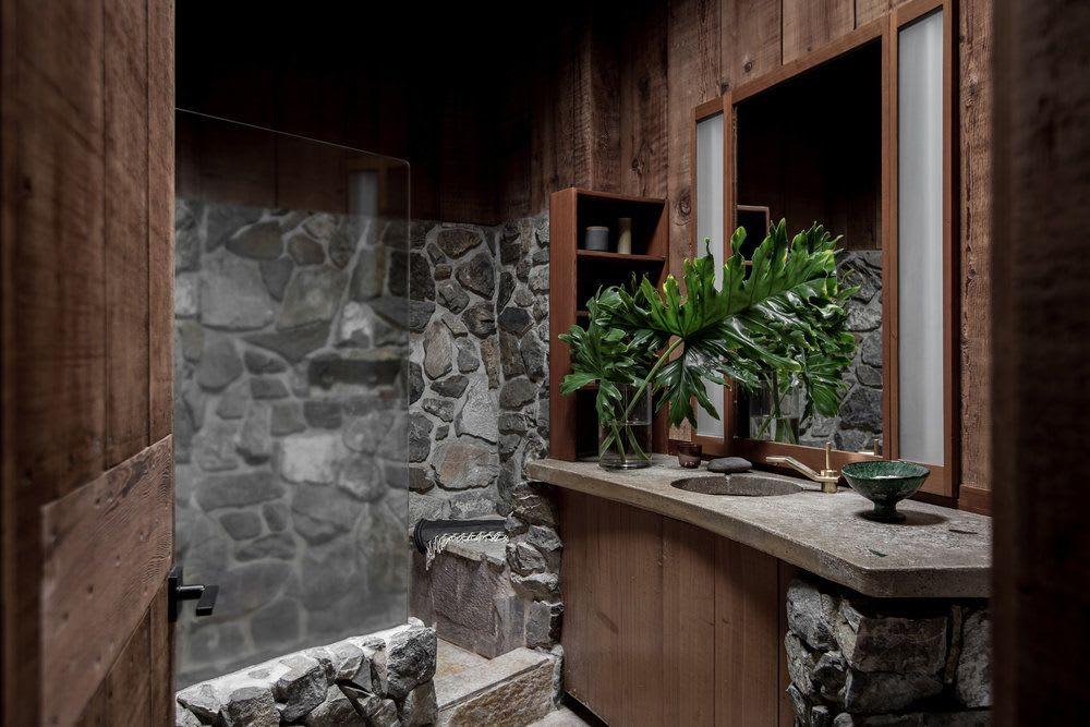 Interior Design by SALT + BONES seen at Fritz House at Esalen Institute, Big Sur - Interior Design