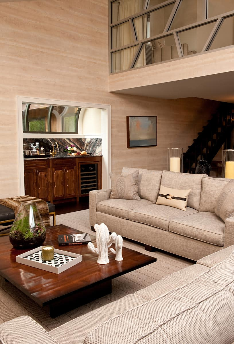 Interior Design by Jennifer Connell Design at Private Residence - The Bachelor Pad