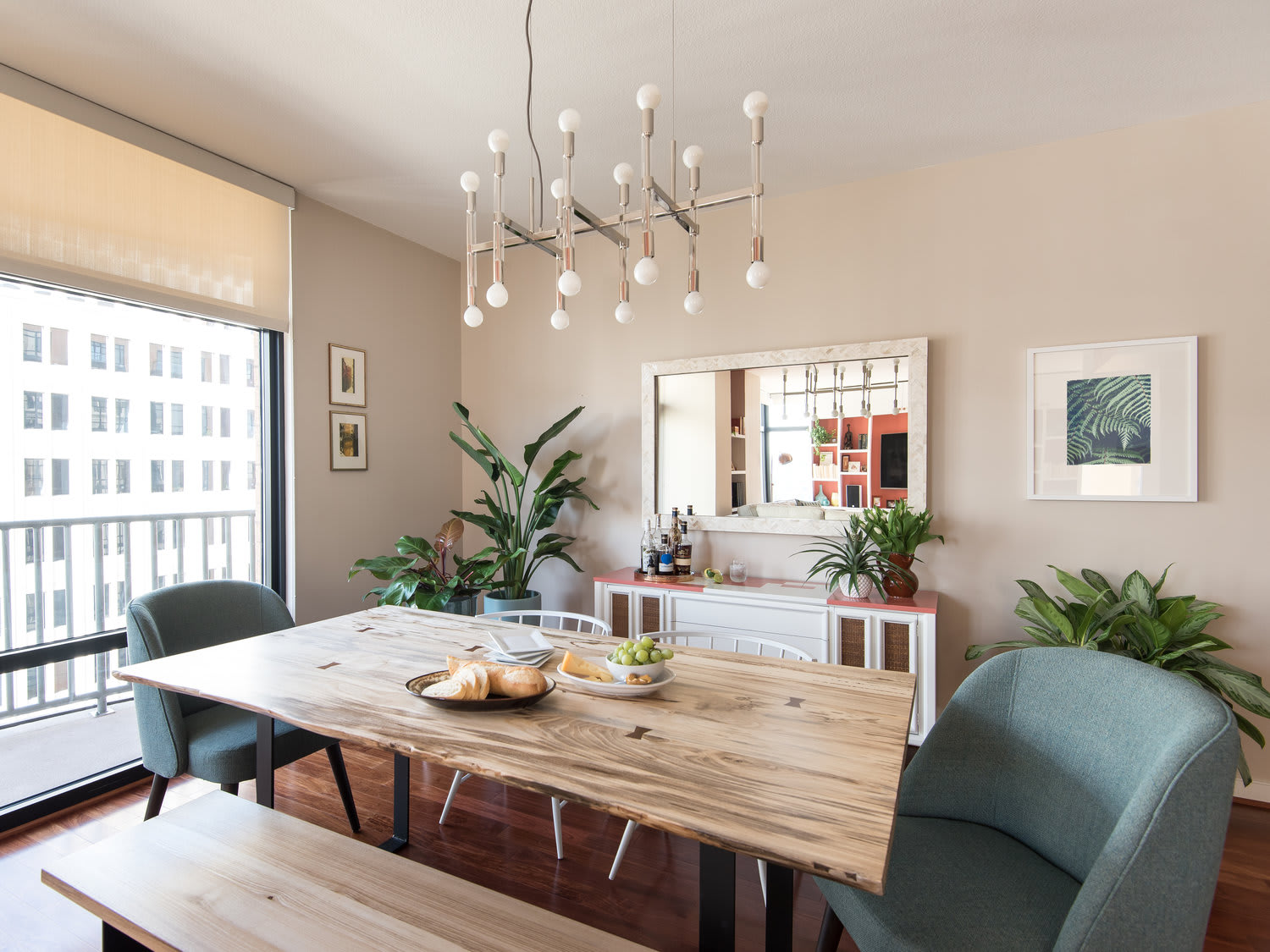 Interior Design by Kerra Michele Interiors seen at Private Residence - Downtown Loft