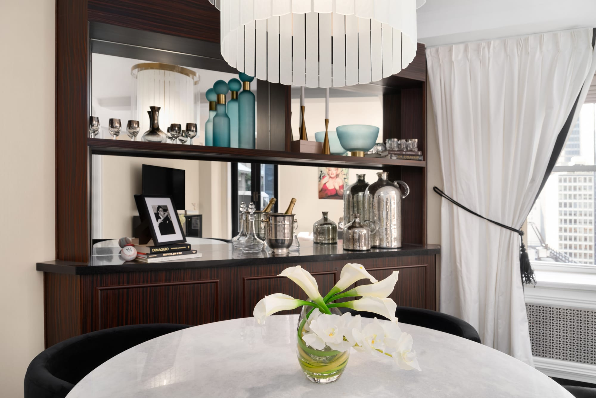 Interior Design by fringe seen at The Lexington Hotel, Autograph Collection, New York - The Norma Jeane Suite