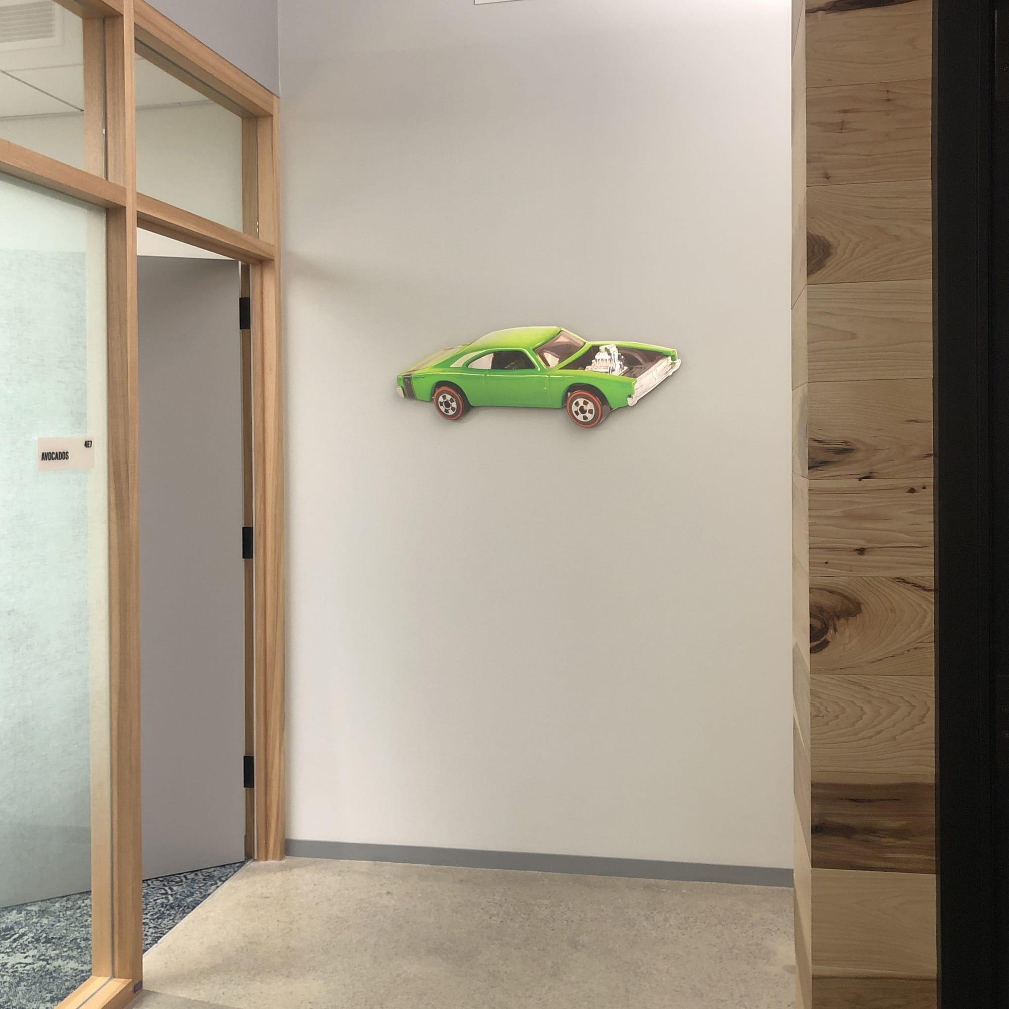 Art & Wall Decor by ANTLRE - Hannah Sitzer seen at Google RWC SEA6, Redwood City - Hot Wheels