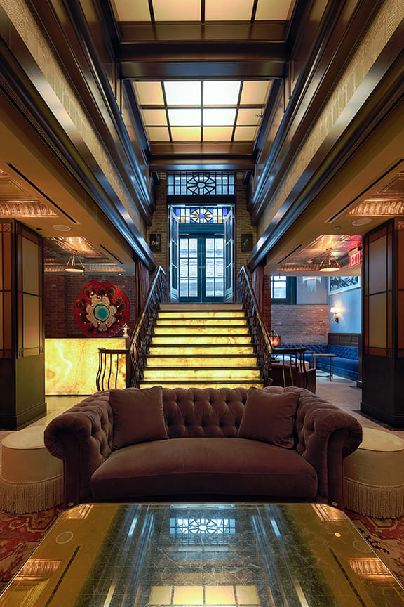 Interior Design by Lemay + Escobar seen at Walker Hotel Greenwich Village, New York - Interior Design