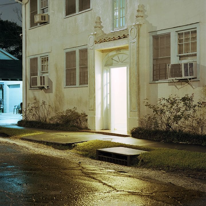 Photography by Tabitha Soren seen at Private Residence, Fort Lauderdale - Weathering - Night landscape