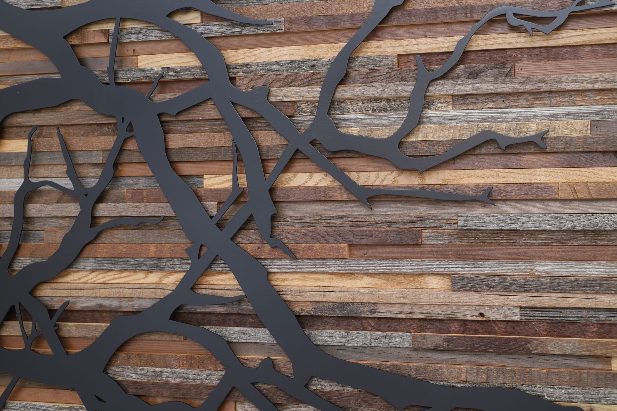 Sculptures by Craig Forget seen at Private Residence, Brandon - Tree Branch