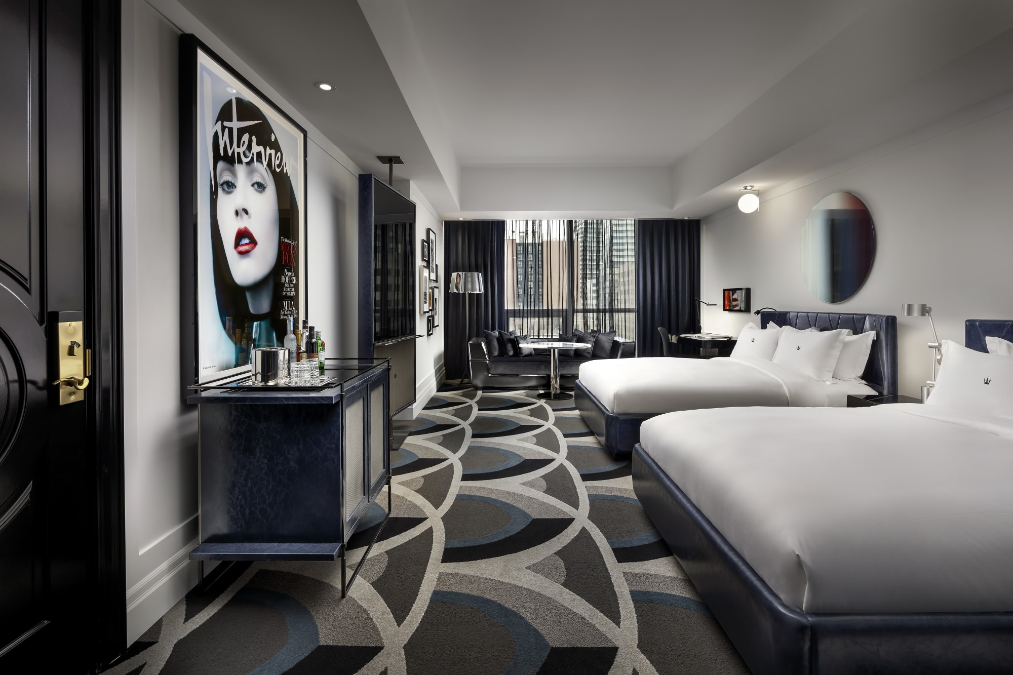 Interior Design by Studio Munge at Bisha Hotel Toronto, Toronto - Interior Design