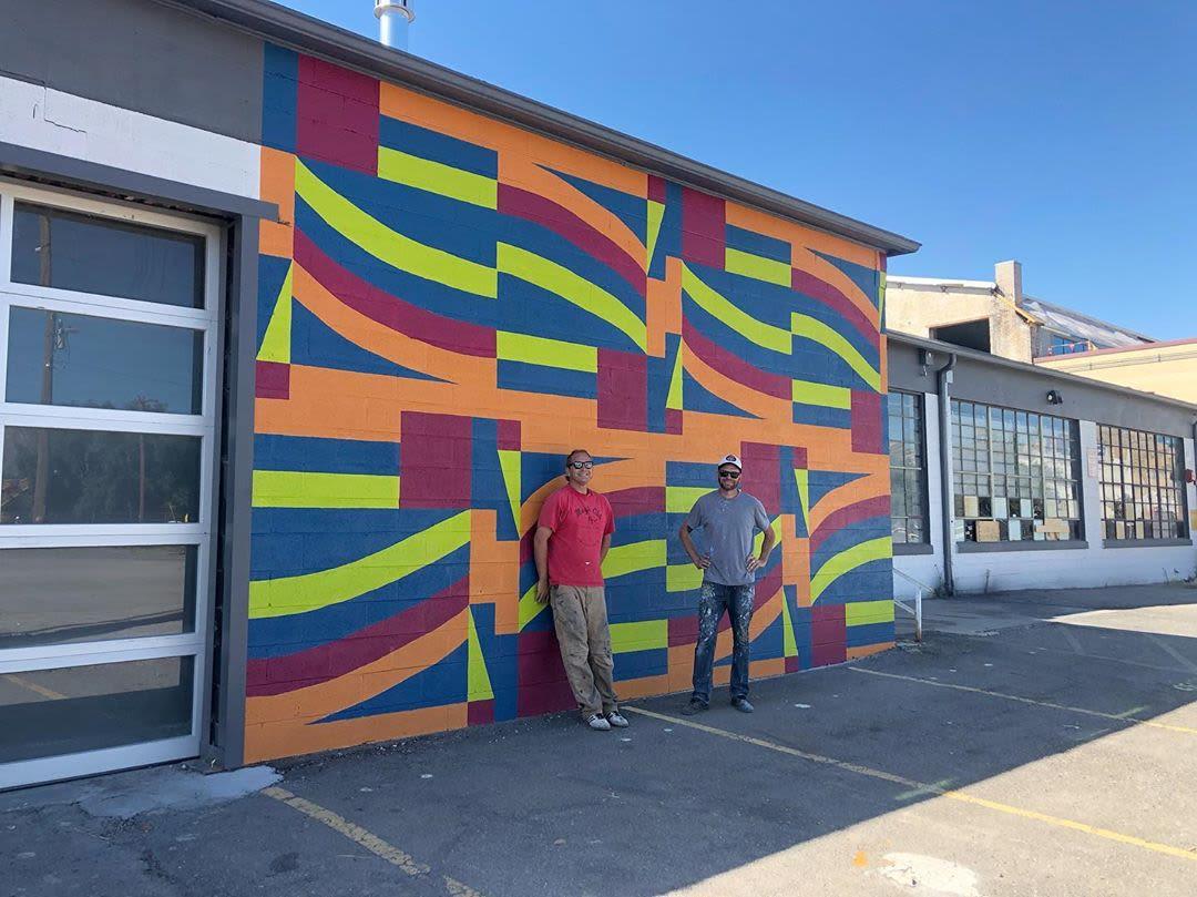 Street Murals by Josh Scheuerman seen at Salt Lake City, Salt Lake City - Granary Mural