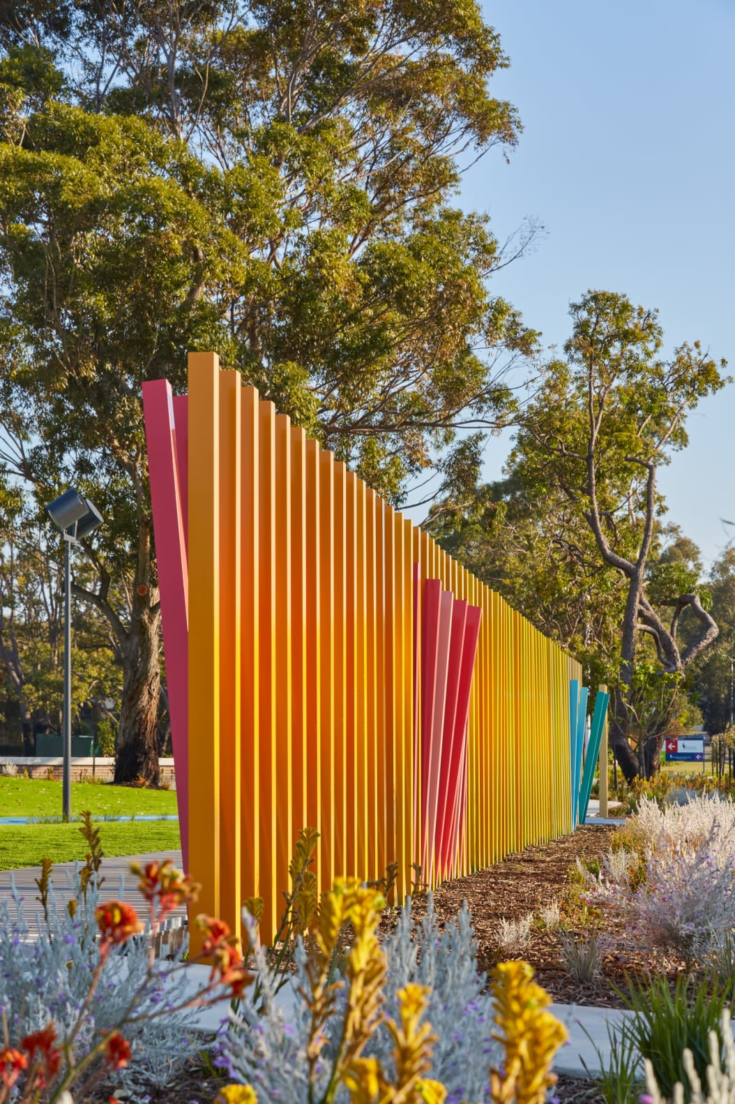 Public Sculptures by Forlano Design seen at Private Residence, Shenton Park - Mutualities