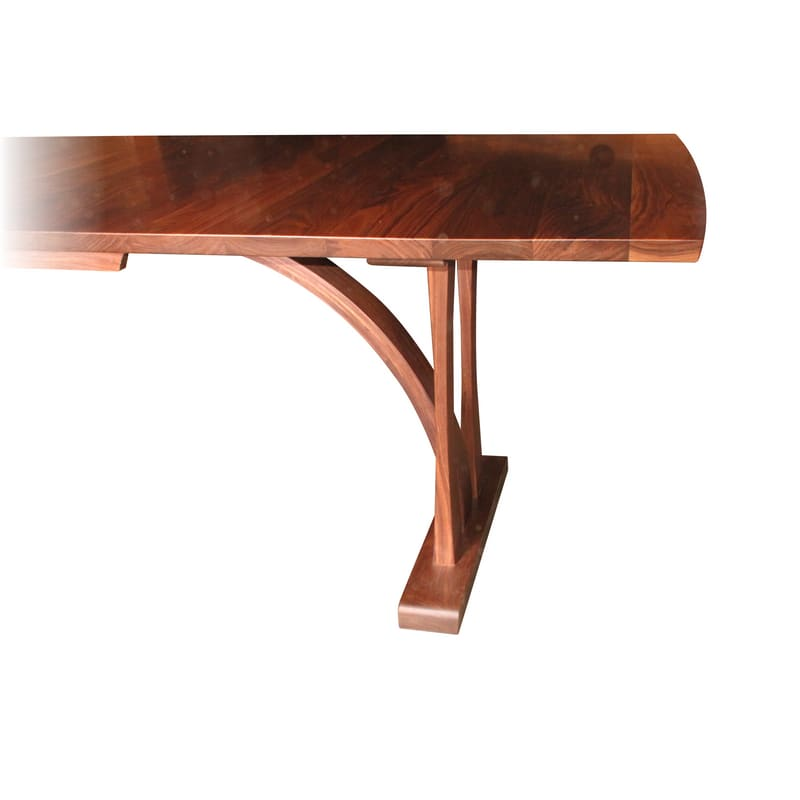 Tables by Greg Aanes Furniture seen at Bellingham, Bellingham - Bow Dining Table