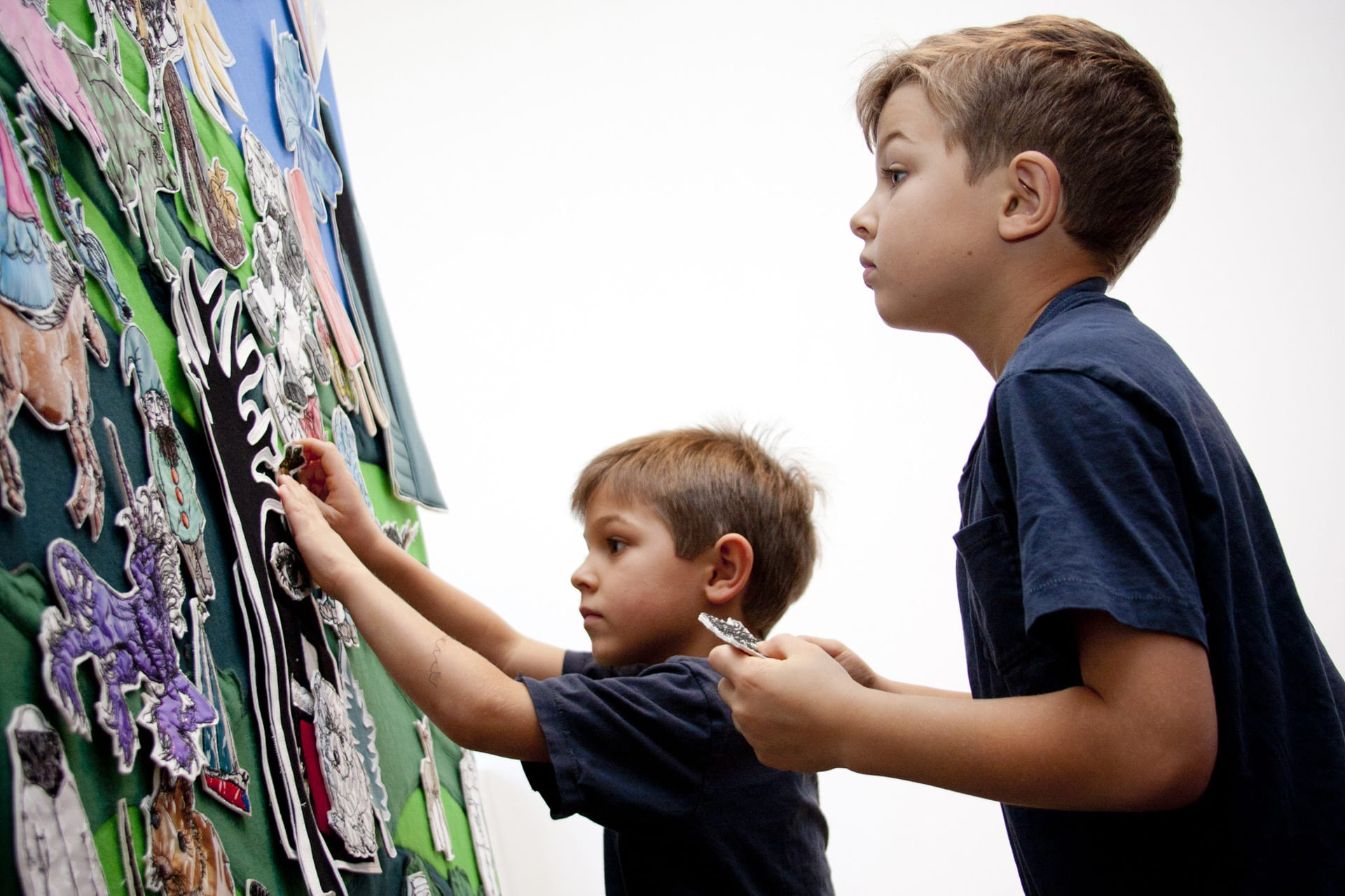 Art & Wall Decor by Leisa Rich seen at Dallas Museum of Art, Dallas - Viewer Interactive play boards