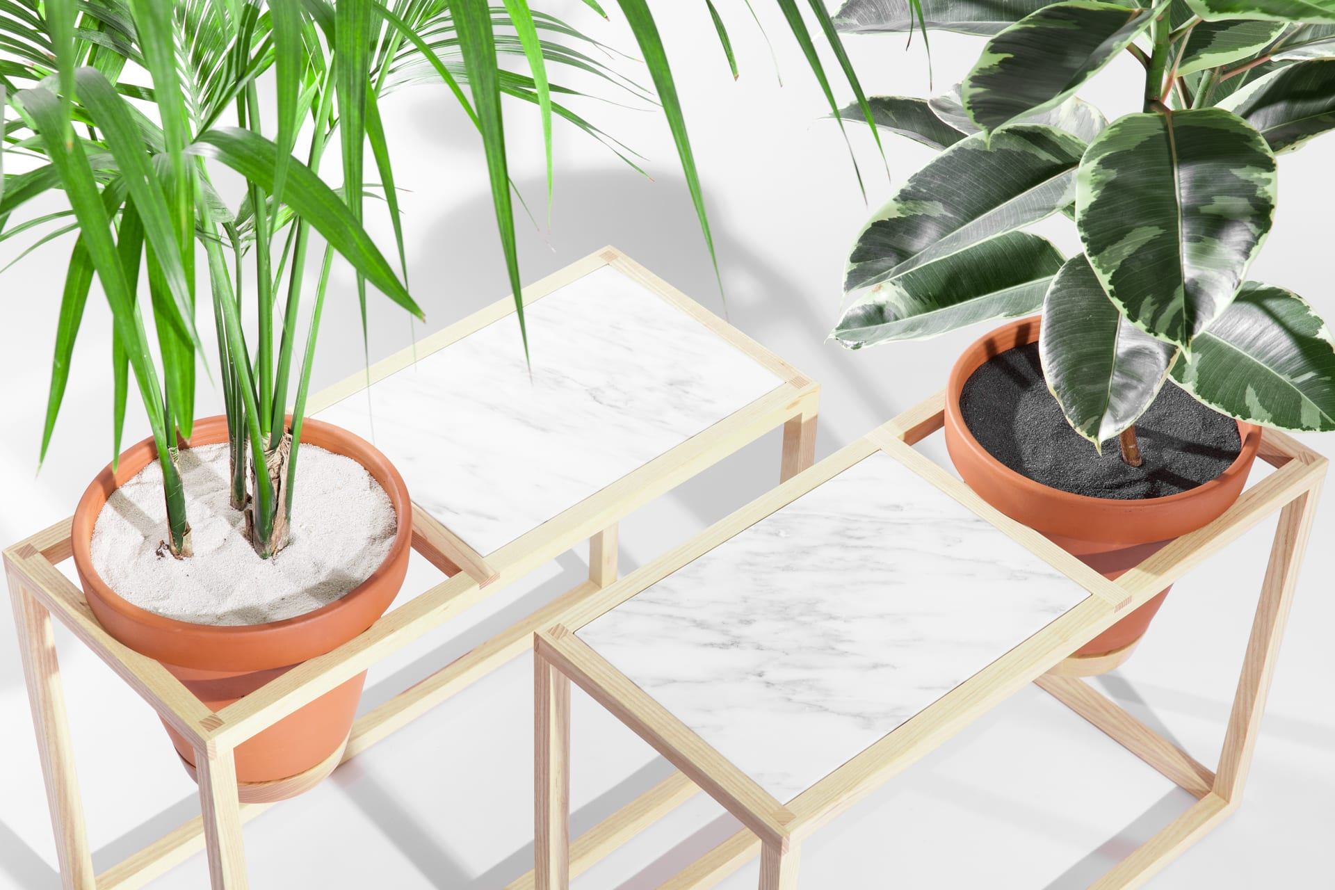 Vases & Vessels by Trey Jones Studio seen at Broadcast Coffee, Seattle - The Frame Planter Collection