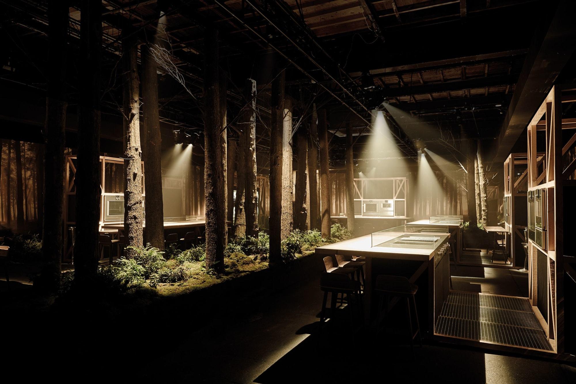 Interior Design by 1zu33 seen at 21st Street, Queens - Restaurant 1683 New York, Gaggenau