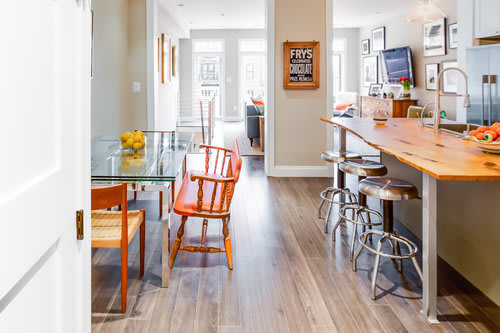 Interior Design by Kerra Michele Interiors seen at Private Residence - H Street Rowhouse