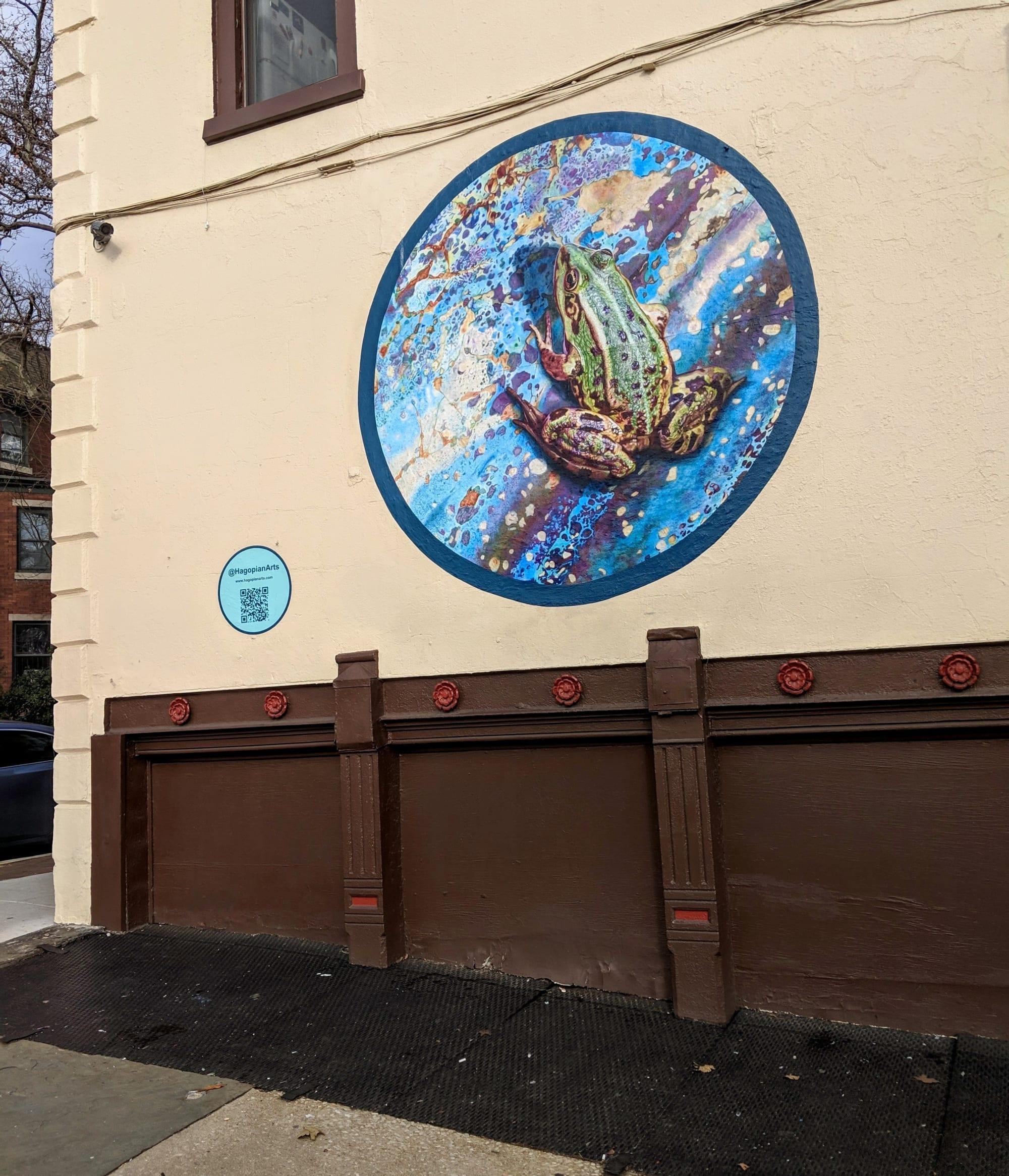 Frog Outdoor Mural