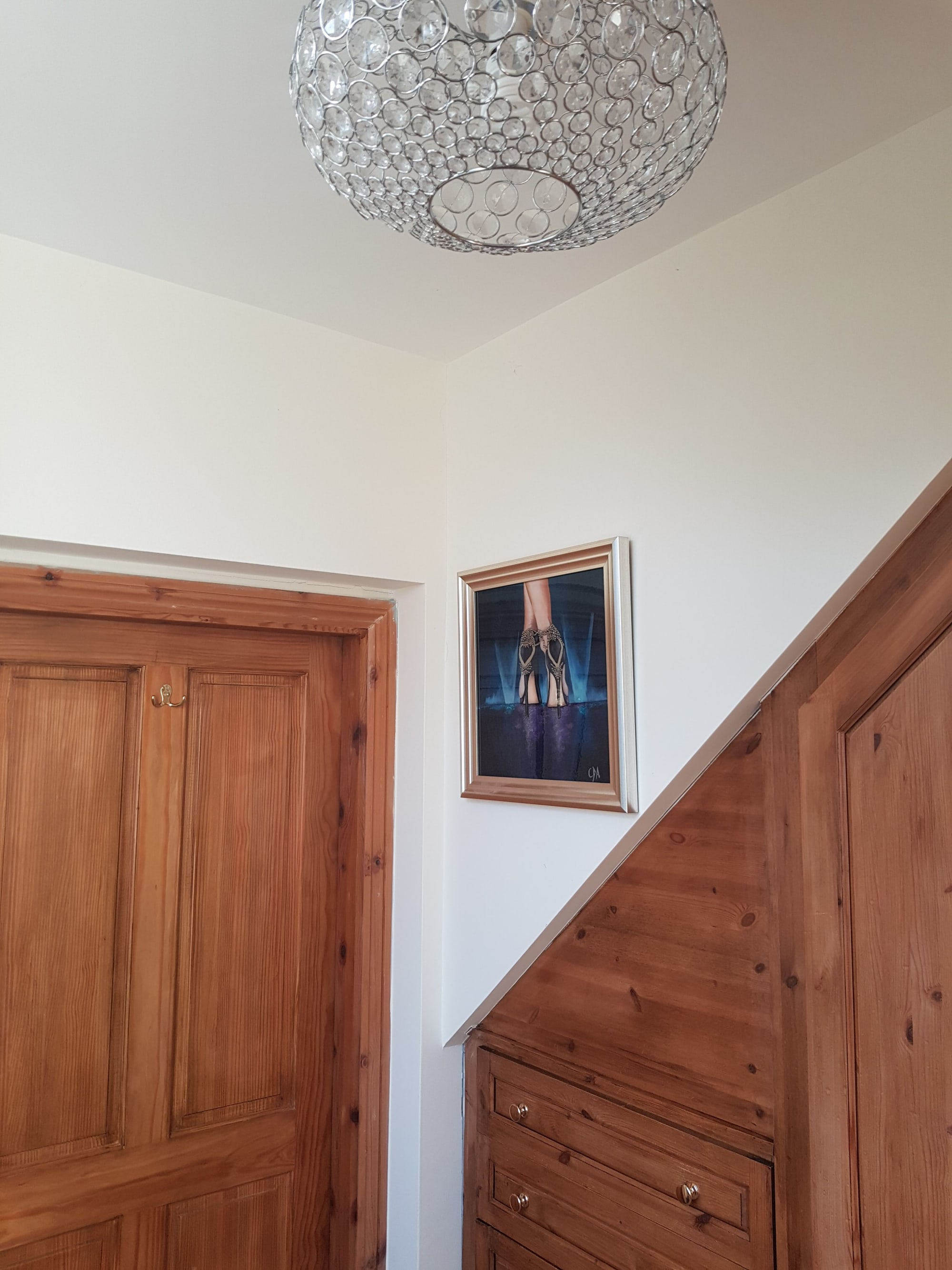 Paintings by Carolina Arbuthnot seen at Private Residence, Solihull - Latin Stance