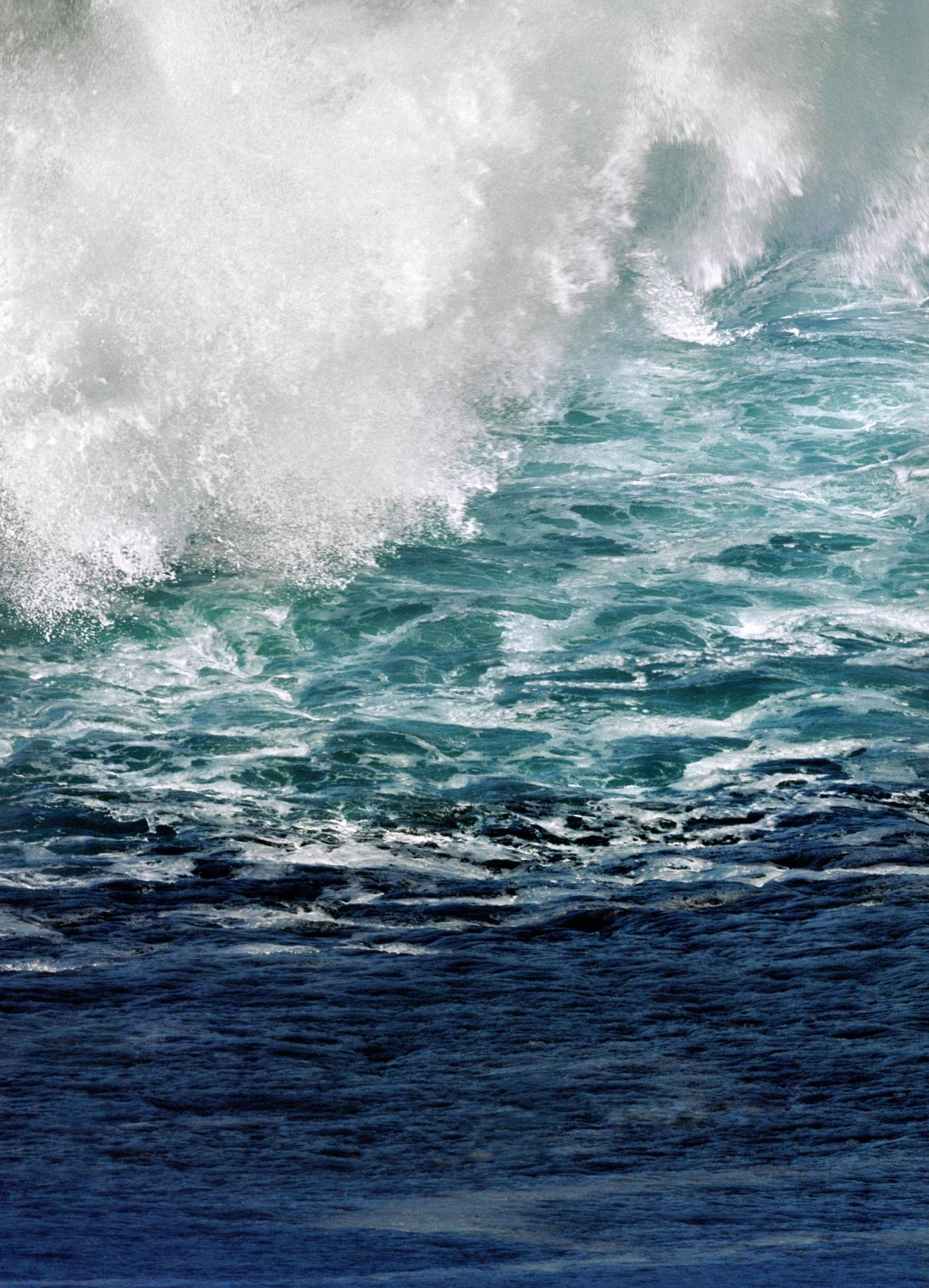 Photography by Tabitha Soren seen at Private Residence, Stinson Beach - Panic Beach - Oceanscapes, waves crashing, water