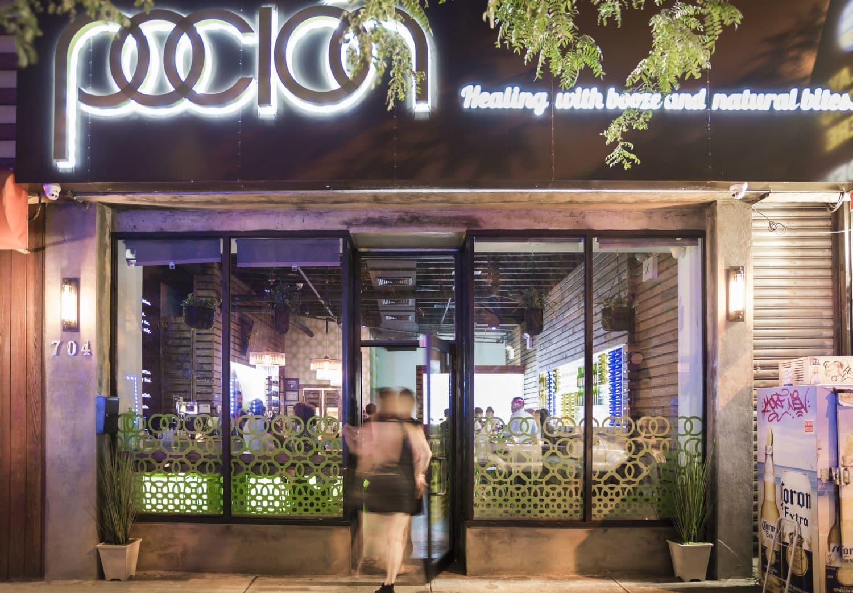 Interior Design by studioBIG seen at Pocion Lounge, New York - Poción